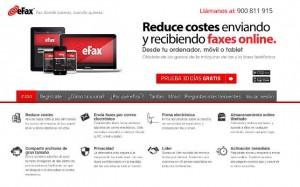 Web efax