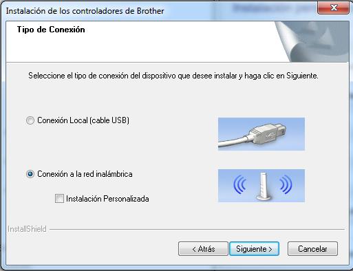 Instalador Borther QL-710W paso 3
