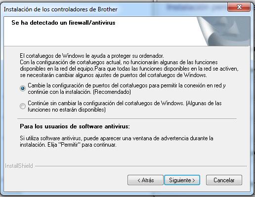 Instalador Borther QL-710W paso 5