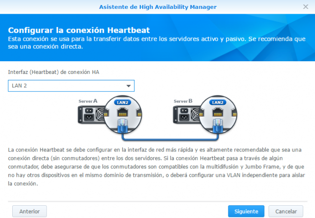 Synology high available manager 4