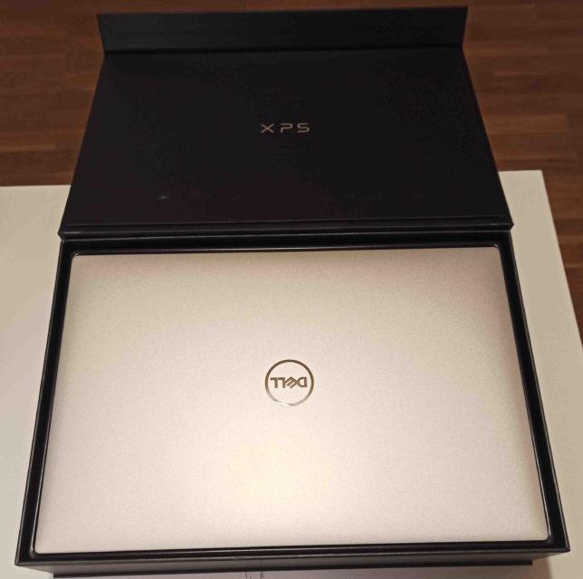 Nuevo XPS de Dell en su caja