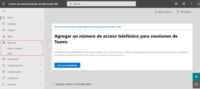 Administración Microsoft 365
